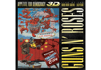 Guns N' Roses - Appetite For Democracy: Live (Ltd.Br+2cd-Boxset) [Blu-ray + CD]