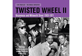 VARIOUS - Twisted Wheel II/Brazennose & Whitworth St '63-71 - (Vinyl)