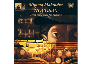 Mimmo/sopransaxophon Malandra - Great Composers for Mimmo - (CD)