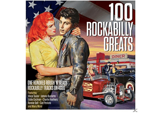 VARIOUS - 100 Rockabilly Greats - (CD)