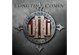 Jimi Anderson Group - Longtime Comin - (CD)