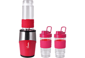 SALCO Smooth 110, Smoothie Maker, 300 Watt, Rot