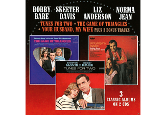 Davis, Skeeter & Bare, Bobby - Tunes For Two/The Game Of Triangles/Your Husband.. - (CD)