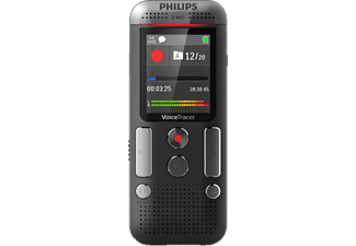 PHILIPS DVT2510 Digitale Voicerecorder 8GB