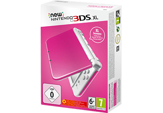 NEW Nintendo 3DS XL Pink+White