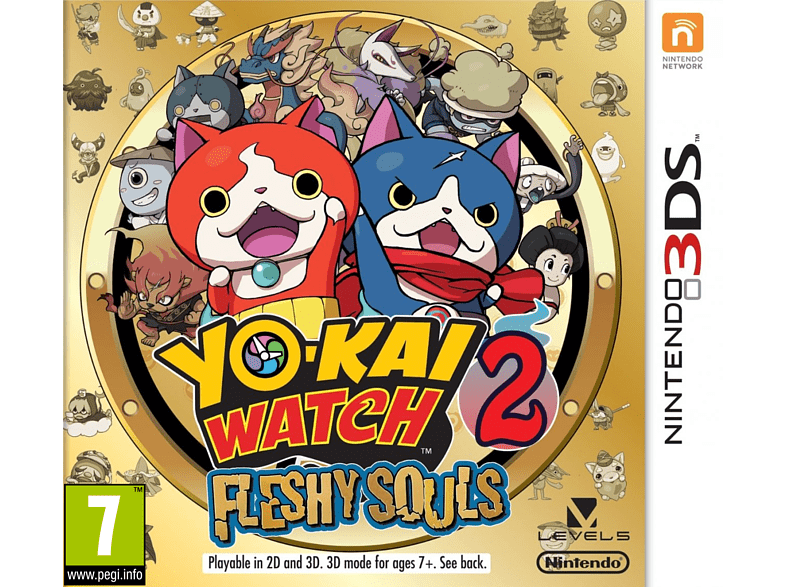 Yo-Kai Watch 2: Fleshy Souls Nintendo 3DS gaming φορητές κονσόλες games 2ds  3ds