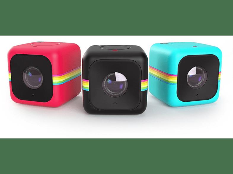 POLAROID Cube+ Wi-Fi Full HD Lifestyle kamera, piros