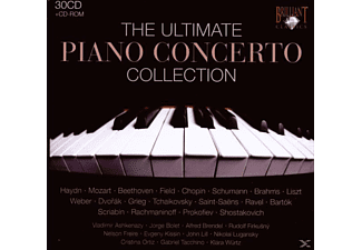 VARIOUS, Ashkenazy,Vladimir/Bolet,Jorge/Brendel,Alfred - The Ultimate Piano Concerto Collection - (CD)