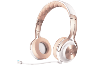 LUCID SOUND LS20 Gaming Headset - Vit/Guld