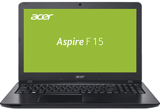 ACER Aspire F 15 (F5-573G-7953), Gaming Notebook mit 15.6 Zoll Display, Core™ i7 Prozessor, 8 GB RAM, 128 GB SSD, 1 TB HDD, GeForce GTX 950M, Schwarz