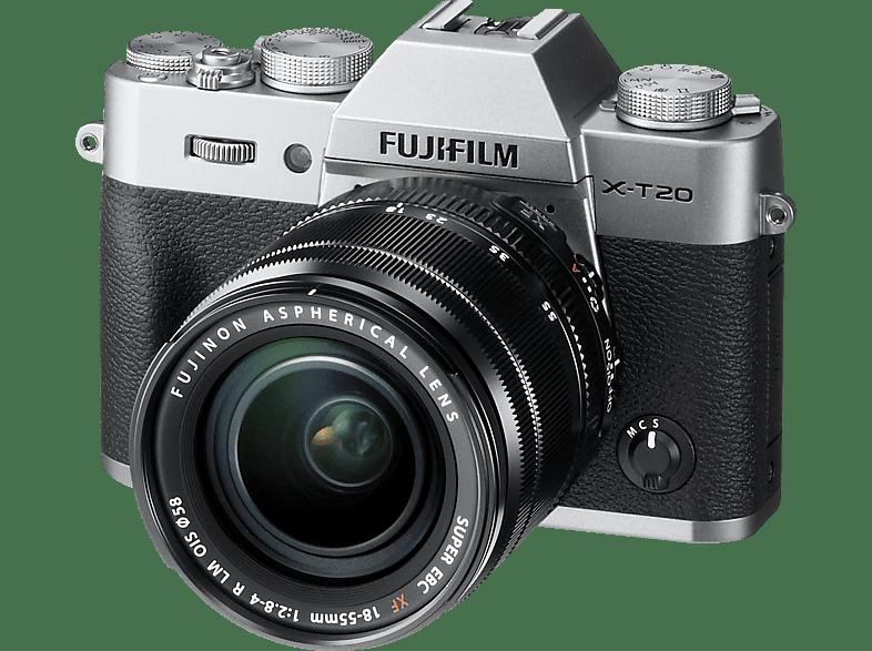 FUJIFILM X-T20 Kit silver 18-55mm hobby   φωτογραφία φωτογραφικές μηχανές mirrorless cameras