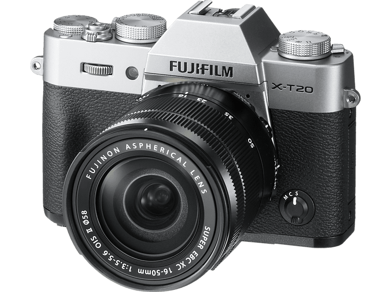 FUJIFILM X-T20 Kit Silver 16-50mm