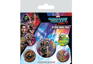 Guardians of the Galaxy 2 Button Set Rocket & Groot