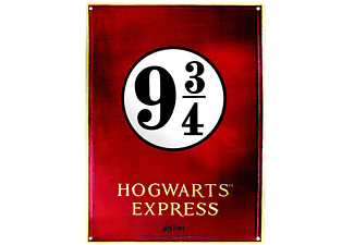 Harry Potter Blechschild 3/4 Hogwarts Express