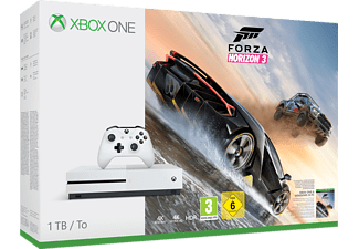 MICROSOFT Xbox One S 1TB Konsole - Forza Horizon 3 Bundle