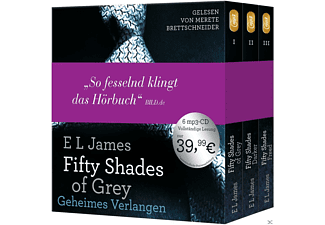 Fifty Shades of Grey  - Die Gesamtausgabe (Teil 1-3) - (MP3-CD)