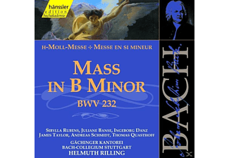 GÄCH.KANT. - MASS IN B MINOR BWV 232 - (CD)