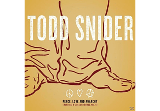 Todd Snider - Peace, Love And Anarchy (Rarities, B-Sides And Demos, Vol 1) [CD]