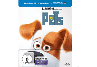 Pets (Steel-Edition) Exclusiv Media Markt [3D Blu-ray (+2D)]