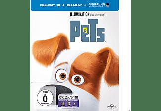 Pets (Steel-Edition) Exklusiv! - (3D Blu-ray (+2D))