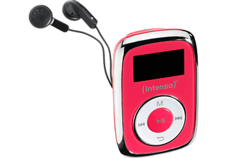 INTENSO Music Mover MP3 Player (8 GB, Pink)
