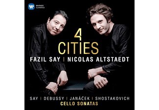 Nicolas Alstaedt - 4 Cities - (CD)
