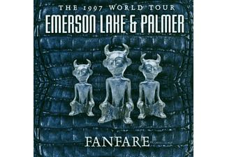 Emerson Lake & Palme - Fanfare World Tour 1 - (CD)