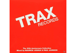 VARIOUS - Trax Records: The 20th Anniver - (CD)
