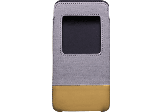Smart Pocket Sleeve Blackberry DTEK 50 Kunststoff Grau/Braun