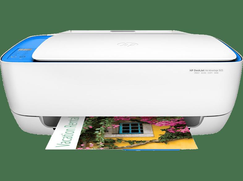 HEWLETT PACKARD DeskJet Ink Advantage 3635 All-in-One Printer - (F5S44C)