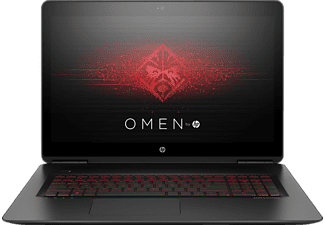 HP OMEN 17-w221ng, Gaming Notebook mit 17.3 Zoll Display, Core™ i7 Prozessor, 8 GB RAM, 1 TB HDD, 256 GB SSD, GeForce GTX 1050, Schwarz