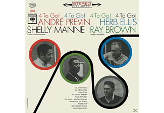 André Previn, Herb Ellis, Shelly Manne, Ray Brown - 4 To Go! - (CD)