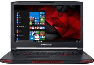 ACER Predator 17 X (GX-792-70DR), Gaming-Notebook mit 17.3 Zoll Display, Core™ i7 Prozessor, 64 GB RAM, 1536 GB SSD, 2000 GB HDD, GeForce GTX 1080, Abyssal Black