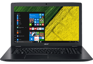ACER Aspire E 17 (E5-774G-540F), Notebook mit 17.3 Zoll Display, Core™ i5 Prozessor, 8 GB RAM, 128 GB SSD, 1 TB HDD, GeForce 940MX, Schwarz