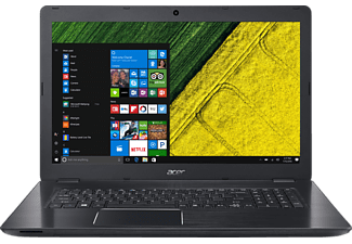 ACER Aspire F 17 (F5-771G-58P2), Gaming-Notebook mit 17.3 Zoll Display, Core™ i5 Prozessor, 8 GB RAM, 128 GB SSD, 1 TB HDD, GeForce GTX 950M, Obsidian Black (Aluminium A- & C-Cover)