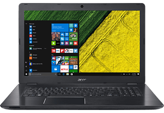 ACER Aspire F 17 (F5-771G-72QU), Gaming-Notebook mit 17.3 Zoll Display, Core™ i7 Prozessor, 16 GB RAM, 256 GB SSD, 1 TB HDD, GeForce GTX 950M, Obsidian Black (Aluminium A- & C-Cover)