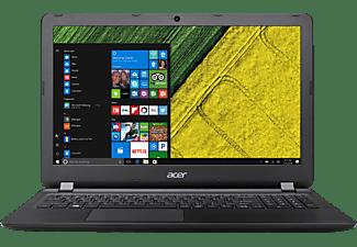 ACER Aspire ES 15 (ES1-572-30K0), Notebook mit 15.6 Zoll Display, Core™ i3 Prozessor, 4 GB RAM, 1 TB HDD, HD-Grafik 520, Schwarz