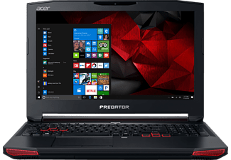 ACER Predator 15 (G9-593-76D7), Gaming-Notebook mit 15.6 Zoll Display, Core™ i7 Prozessor, 16 GB RAM, 256 GB SSD, 1 TB HDD, GeForce GTX 1060, Abyssal Black