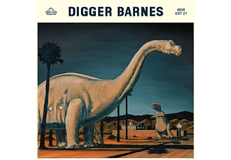Digger Barnes - Near Exit 27 - (CD)