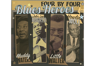 VARIOUS - Blues Heroes (CDx4) - (CD)