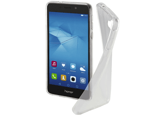 HAMA Crystal Clear Backcover, Huawei, Honor 6X, Thermoplastisches Polyurethan (TPU), Transparent