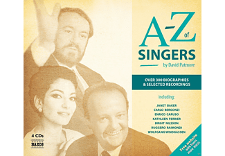A-Z Of Singers - 4 CD + Buch - Sinfon.