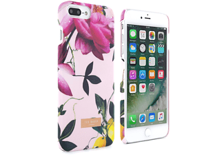 TED BAKER AW16 CHALA Soft-Feel Shell for iPhone 7 Plus - Citrus Bloom Nude