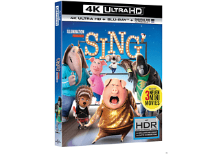 Sing - (4K Ultra HD Blu-ray + Blu-ray)
