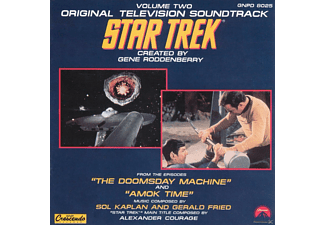 Sol Kaplan & Gerald Fried - Star Trek Vol. 2 - (CD)