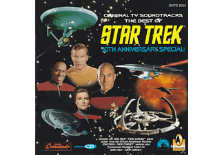 VARIOUS - The Best Of Star Trek - 30th Anniversary Special - (CD)