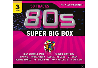 VARIOUS - 80s Super Big Box(Re-Recording - (CD)