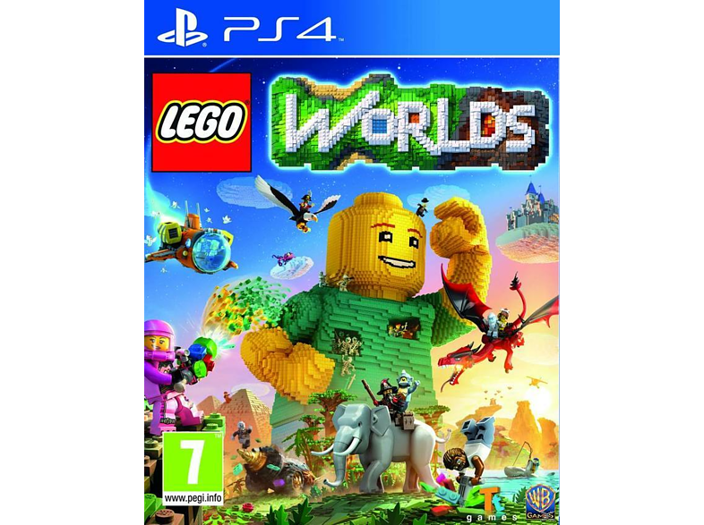 Lego Worlds gaming games ps4 games