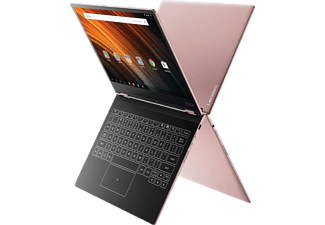LENOVO Yoga A12, Convertible mit 12.2 Zoll, 32 GB Speicher, 2 GB RAM, Atom™ x5 Prozessor, Android 6.0, Rose Gold