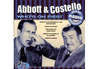 Abbot & Costello - Who's On First - (CD)